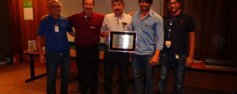 Prêmio de reconhecimento como destaque de segurança no segmentosilvicultura e viveiro